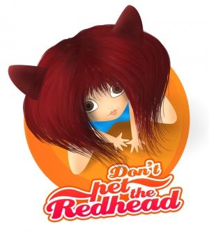 Don't pet the Redhead